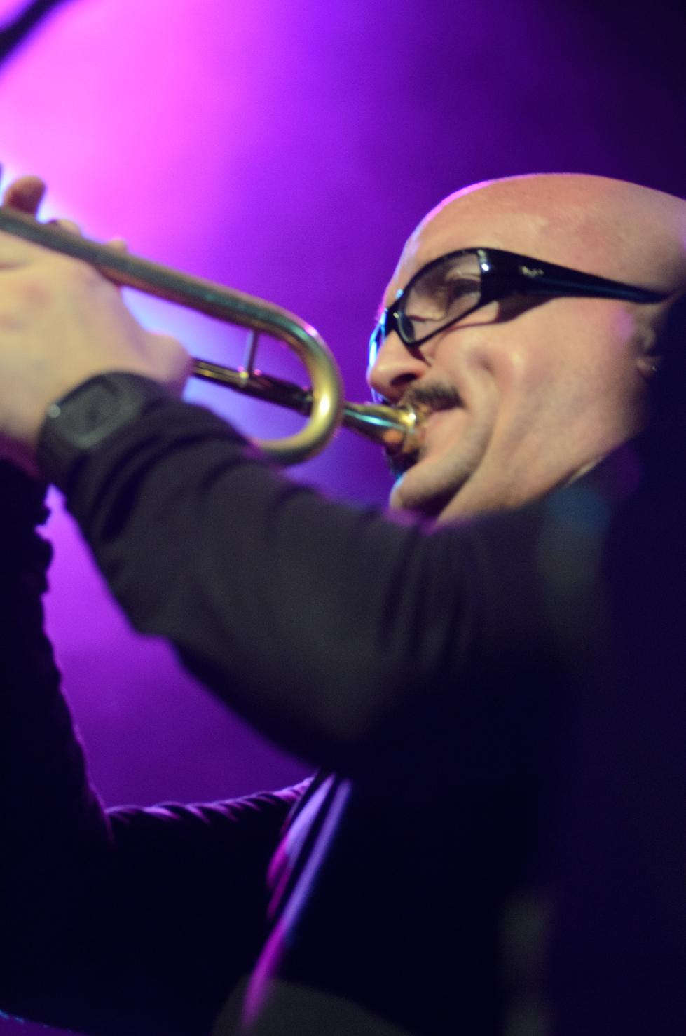Giovanni Falzone, Francesco Bearzatti Quartet, Barcelona Jazz Festival
