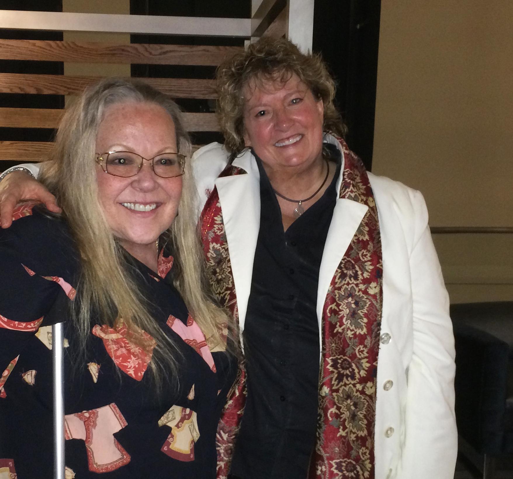 Suede, postshow with Master Rebecca Parris