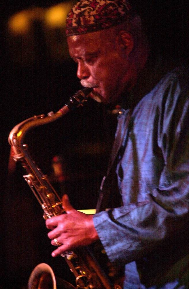 """David """"Fathead"""" Newman at Zanzibar Blue"""
