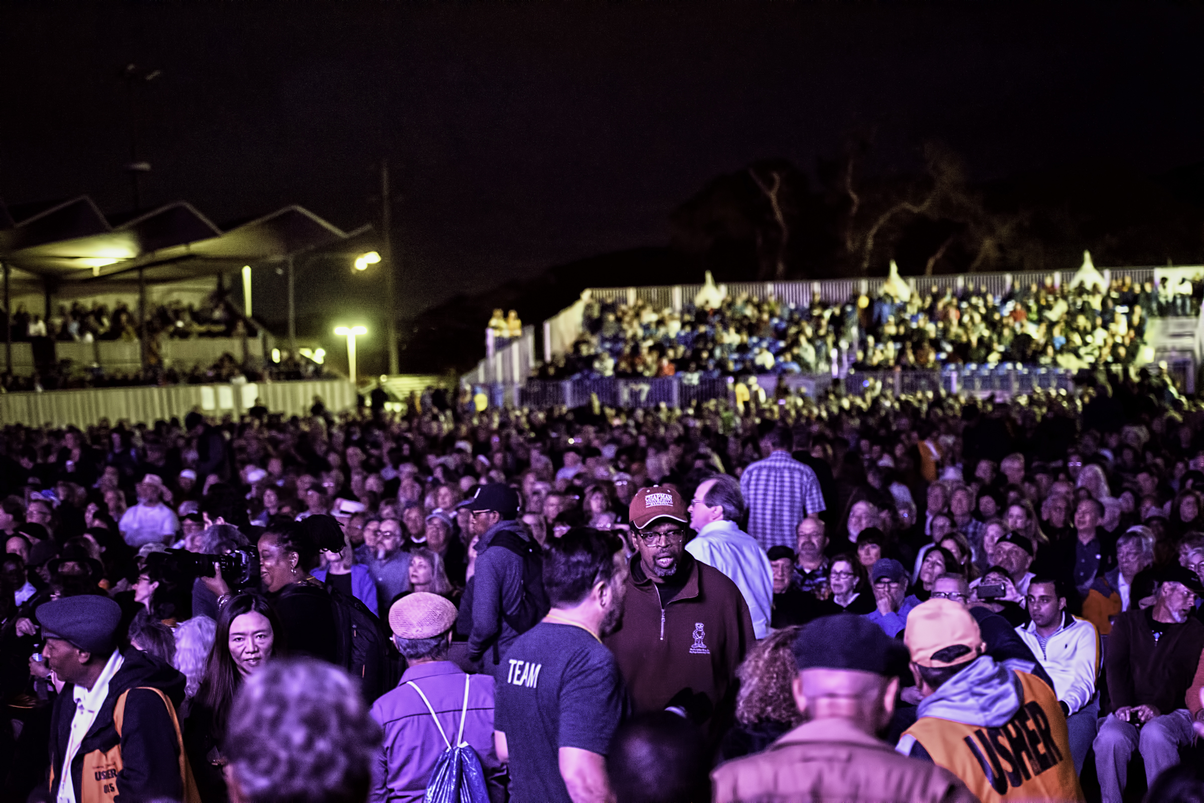 Crowd at Regina Carter's Simply Ella concert at the Monterey Jazz Festival
