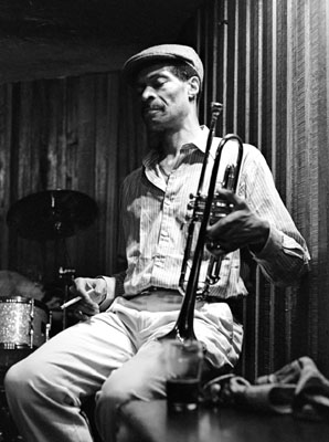 Woody Shaw 0434133 Bass Clef, Hoxton, London. 1987 Images of Jazz