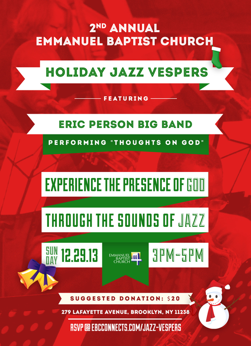 2nd annual emmanuel baptist church holiday jazz vespers