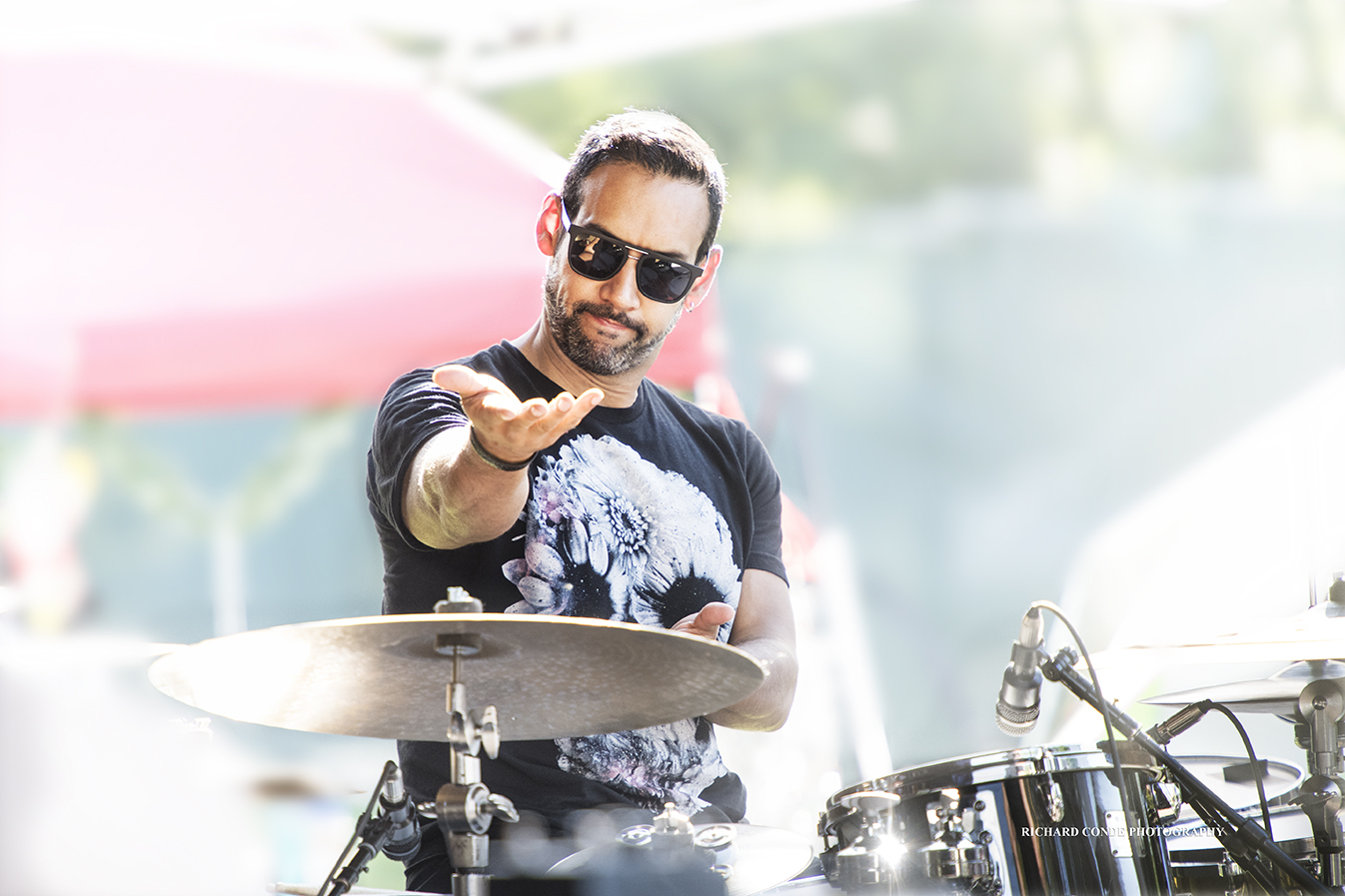 Antonio Sanchez at the Saratoga Jazz Festival