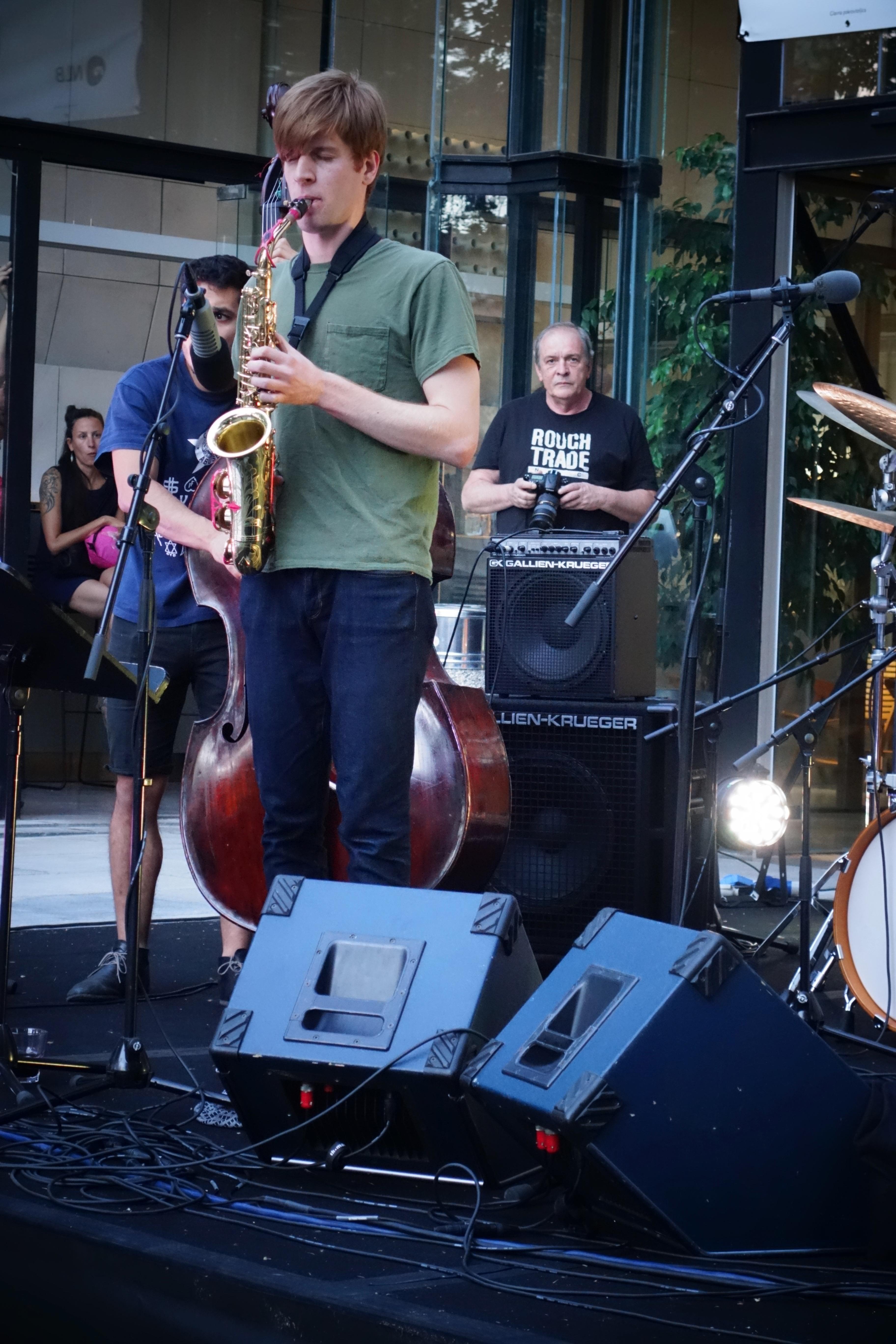 Chris Pitsiokos, Brandon Lopez, Dré Hočevar - Ljubljana Jazz Festival 2017