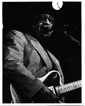 T.D. Bell, Austin, Texas Bluesman