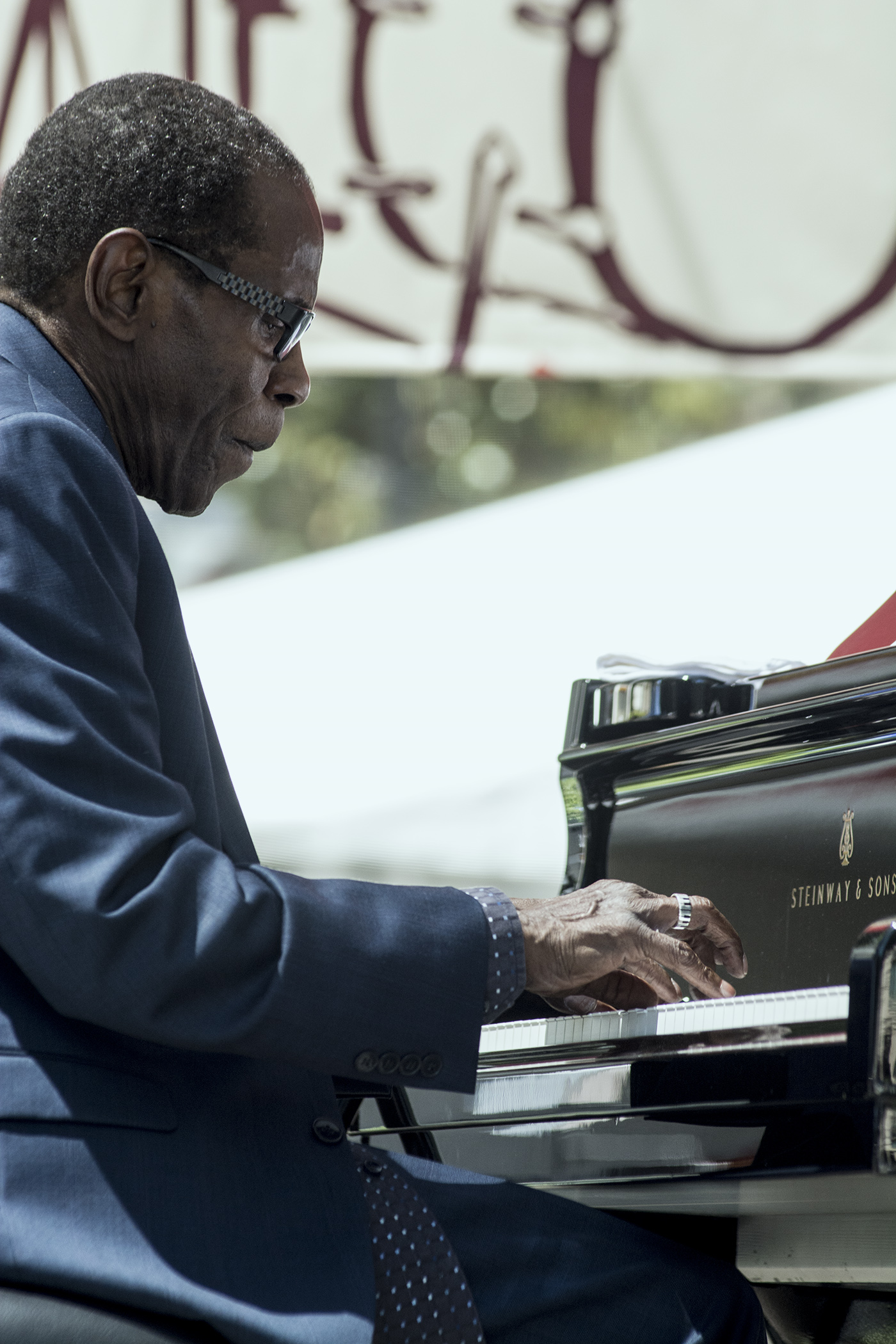 George Cables at San Jose Jazz Summer Fest 2017