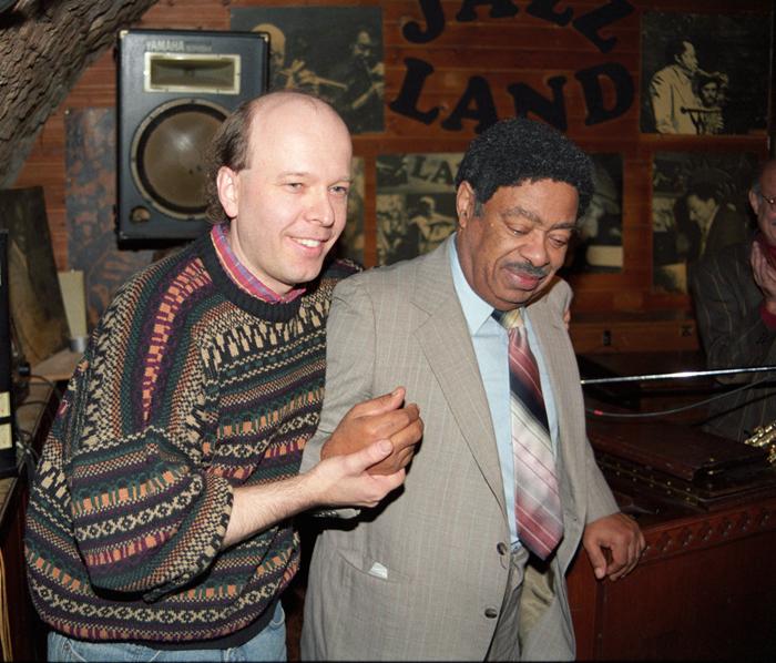 T.C. Pfeiler &Amp; Wild Bill Davis at Jazzland, Vienna / Austria, Nov. 30, 1991, Copyright by Ulrike Muehlbachler &Amp; T.C. Pfe