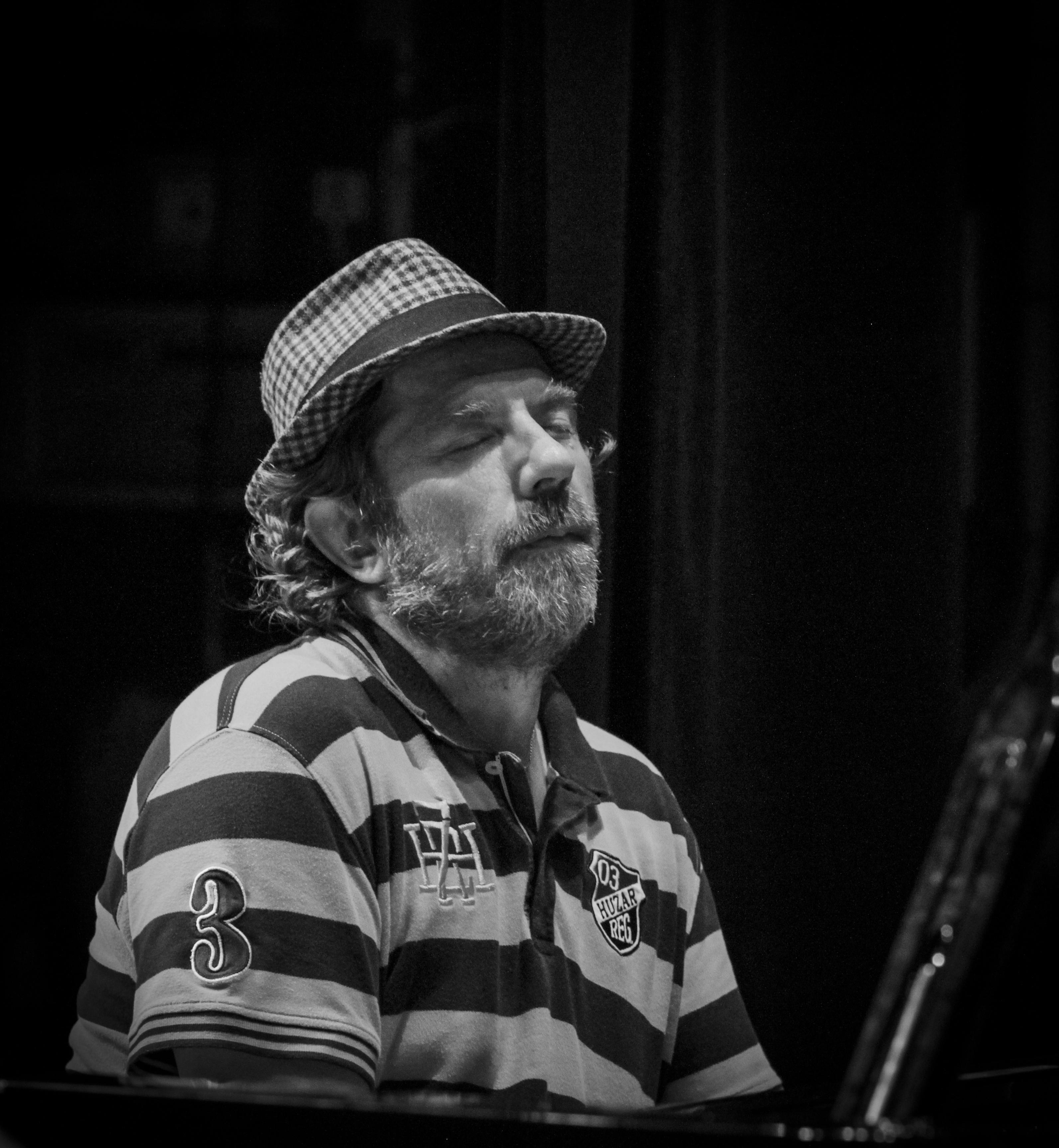 Carsten Dahl (p) at Summer Jazz 2014 in Copenhagen, Denmark