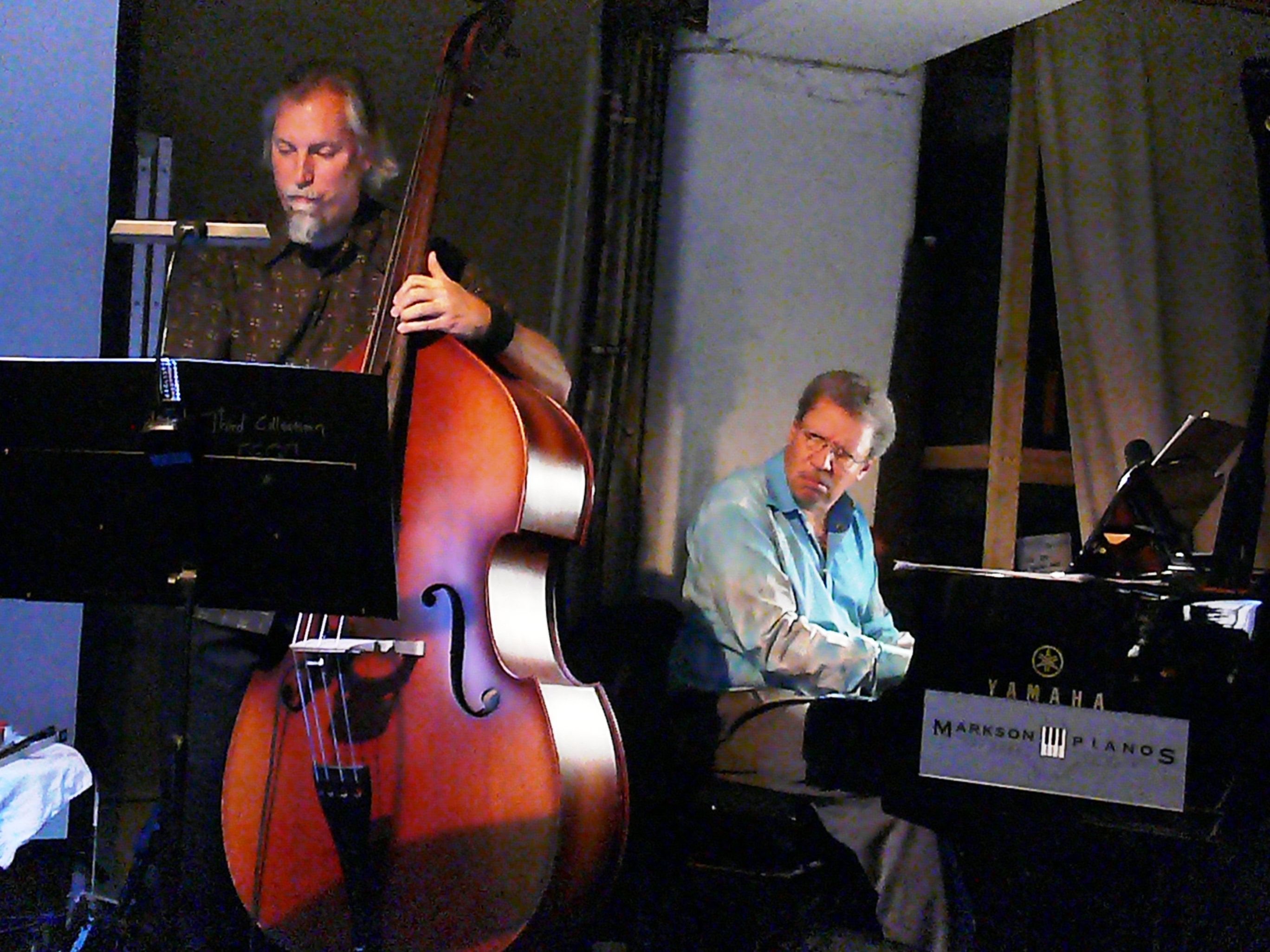 John lindberg and anthony davis at cafe oto as part of the london jazz festival in november 2013