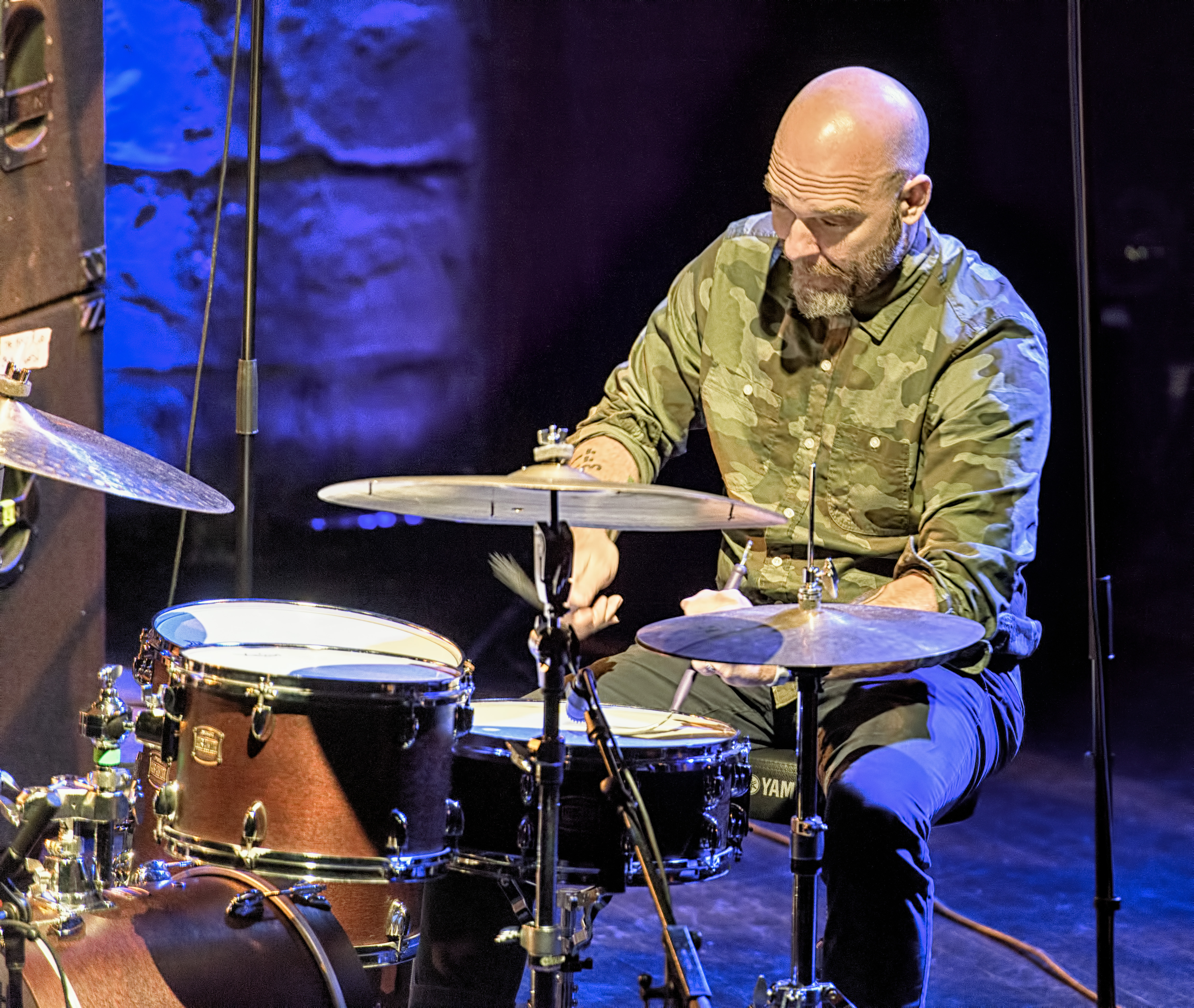 Dave King with the Bad Plus at The Montreal International Jazz Festival 2017