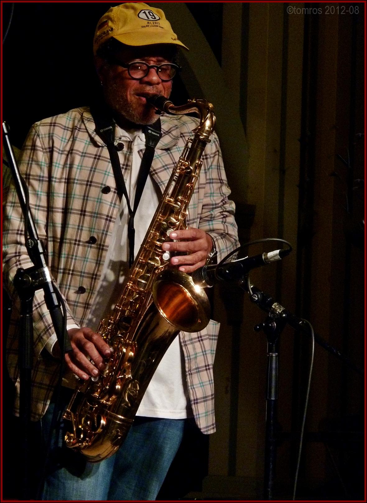Don Byron at Markham Jazz Festival, August 2012