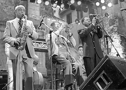 Benny Carter - Doc Cheatham - Roy Hargrove / San Sebastian 1994