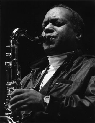 Eddie Harris at the Monterey Jazz Festival in 1993