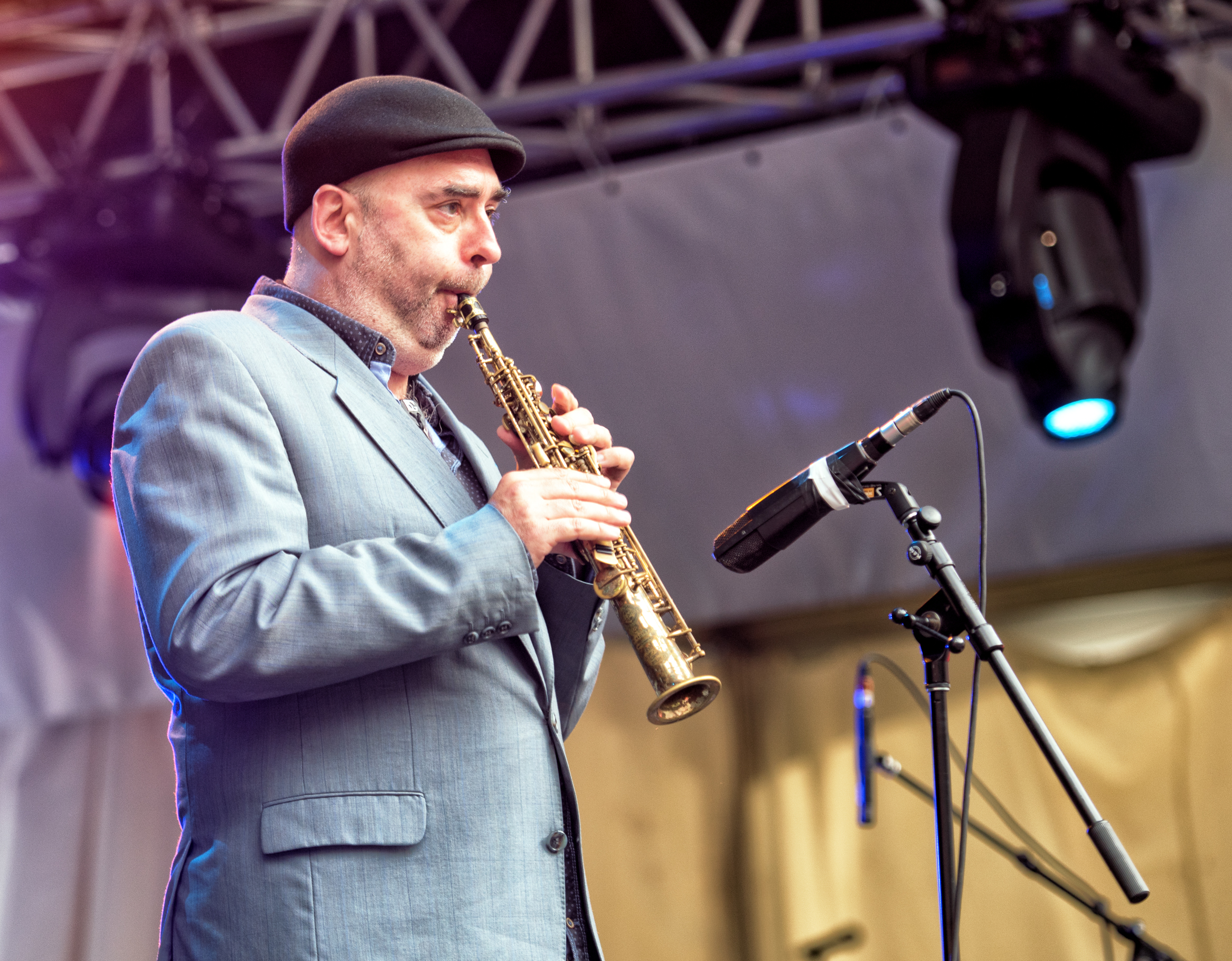 Christophe Monniot with the Moutin Factory Quintet at the Montreal International Jazz Festival 2015