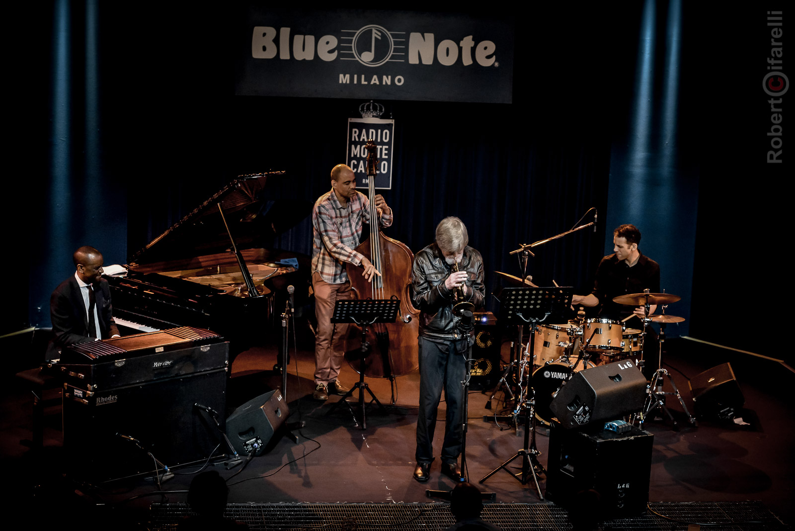 Tom Harrell at Bluenote in Milan