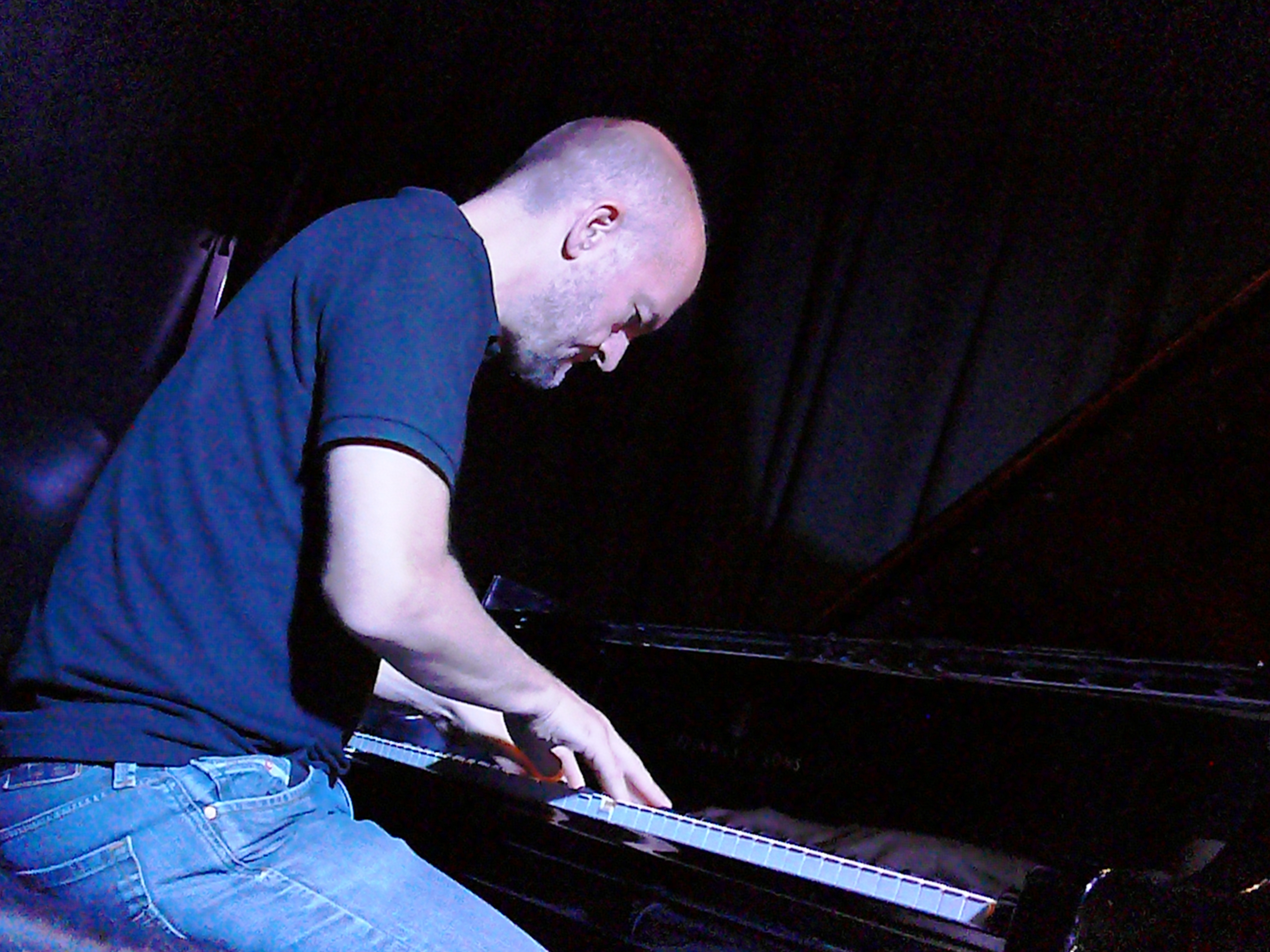 Liam Noble at the Vortex, London in August 2017