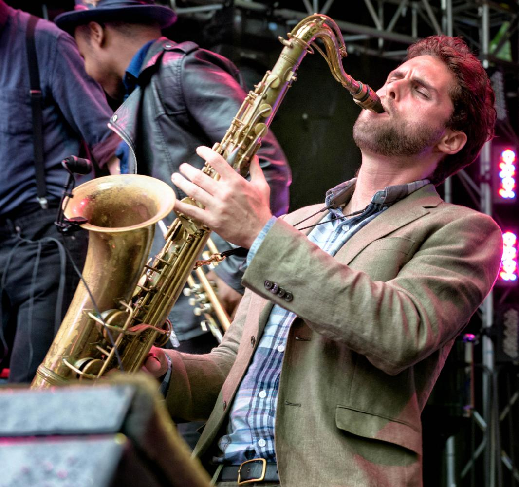 Ben Flocks with Sammy Miller and the Congregation at The Montreal International Jazz Festival 2017