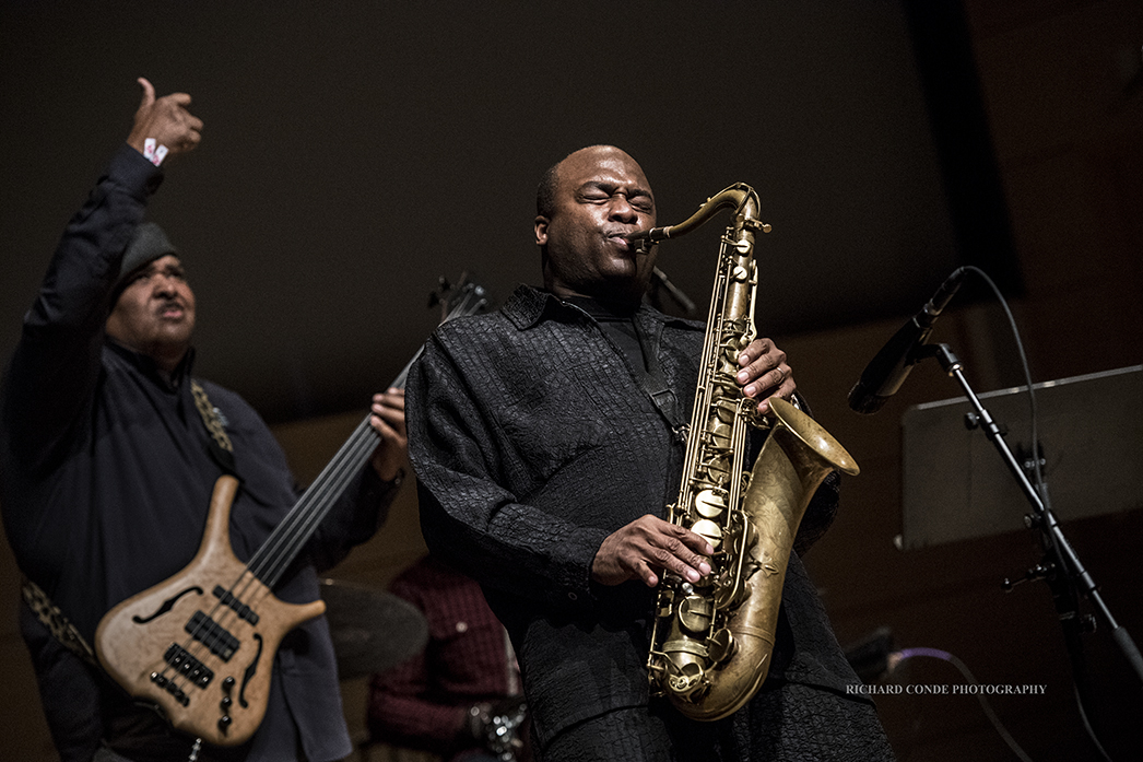 James Carter at the 2018 Winter Jazz Festival