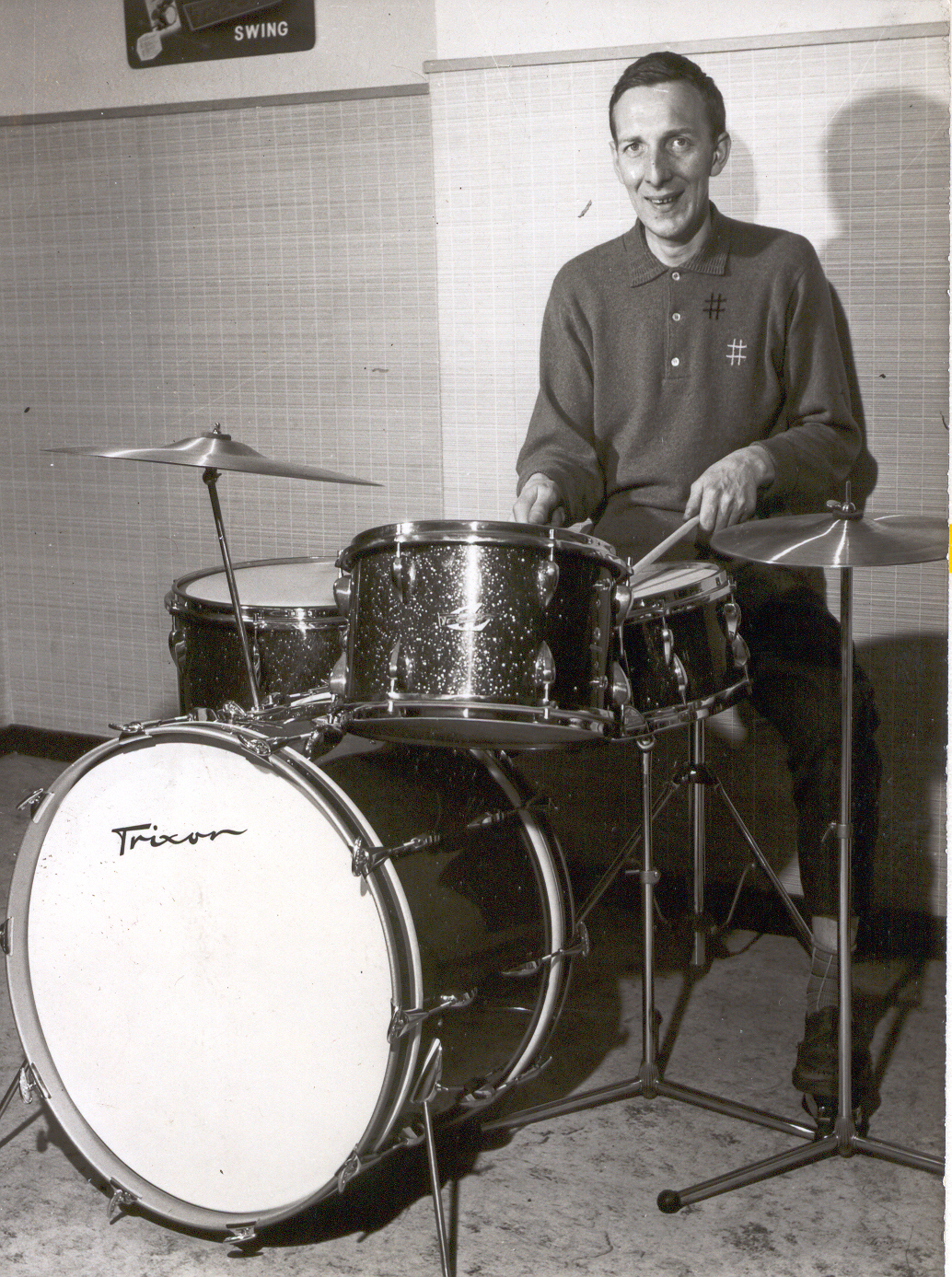 Phil Seamen 1958, Trixon Drums Endorsement