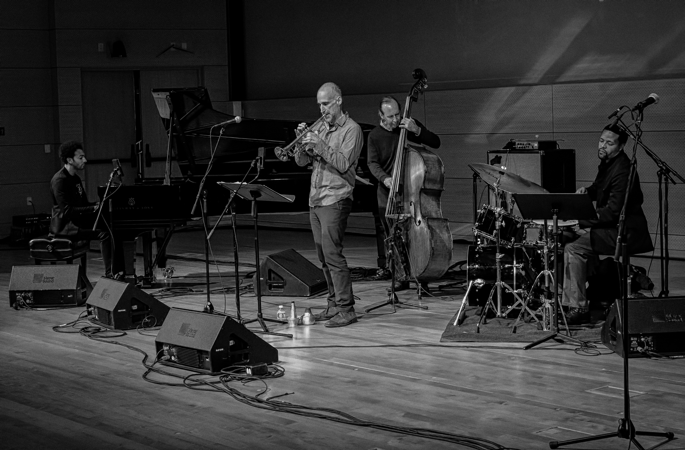 David Virelles, Drew Gress, Ralph Alessi And Nasheet Waits At The Nyc Winter Jazzfest 2016