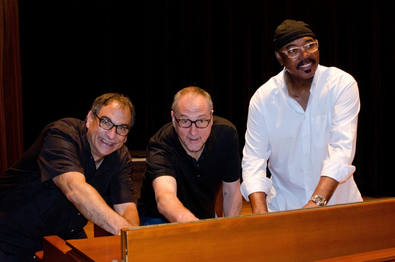 Tony Monaco, Chuck Loeb, and Harvey Mason