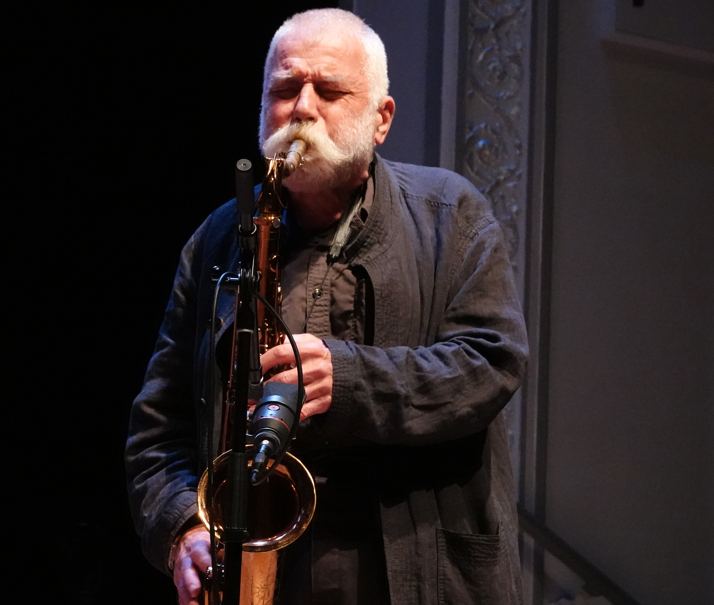 Peter Brotzmann at 24th Annual Vision Festival