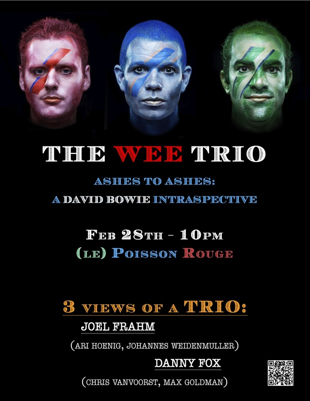 The Wee Trio - 3 Views of a Trio