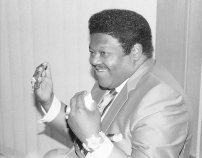 Fats Domino 0325102 Royal Festival Hall London July 1985 Images of Jazz
