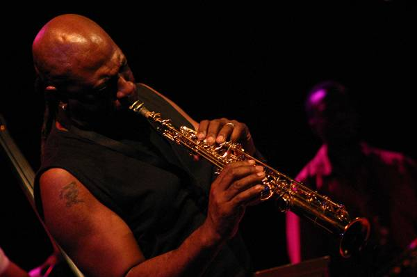"""Dave McMurray with """"Geri Allen Time Line Electric Group"""" at Victoria Hall , Jazz Estival, Geneva, Switzerland, 2004"""