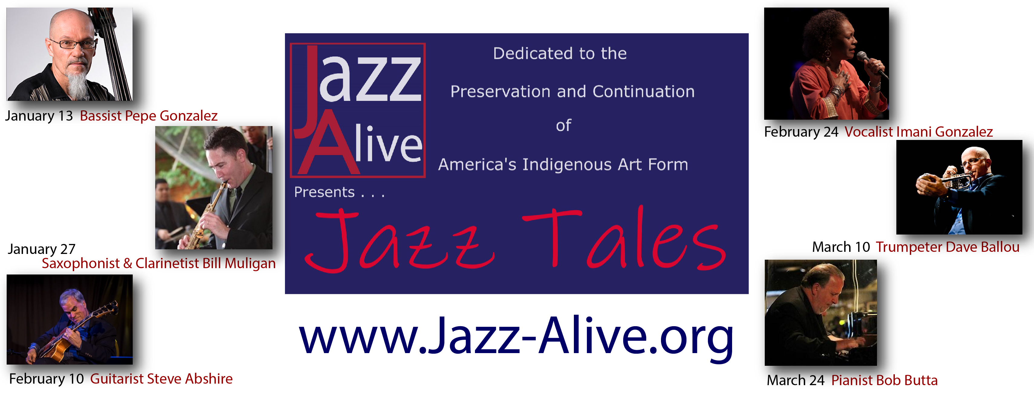 Jazz Tales January to March 2021