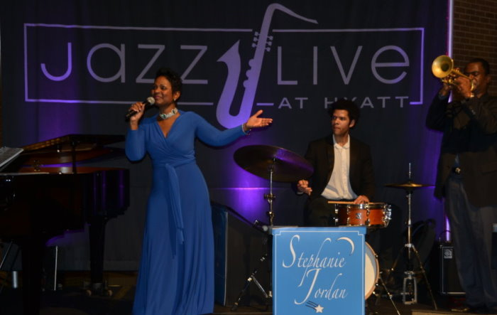 Stephanie Jordan Performs Jazz Live At Hyatt Regency New Orleans April 1 – May 7
