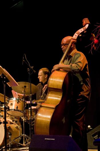 Krzysztof Dziedzic &Amp; Anthony Cox of a. Cox Quartet - Gdansk in Jan. 2008