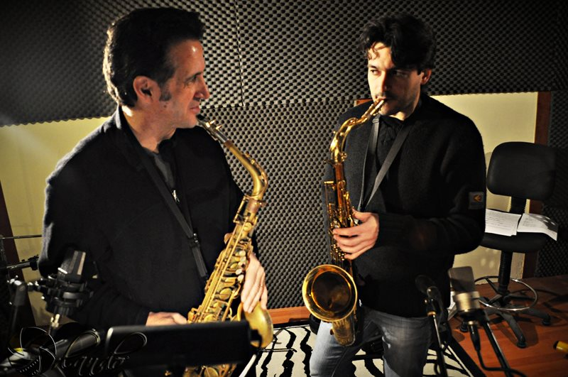 Eric Marienthal and Gianfranco Menzella
