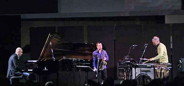 Dado Moroni, Rosario Giuliani and Joe Locke at Umbria Jazz Winter