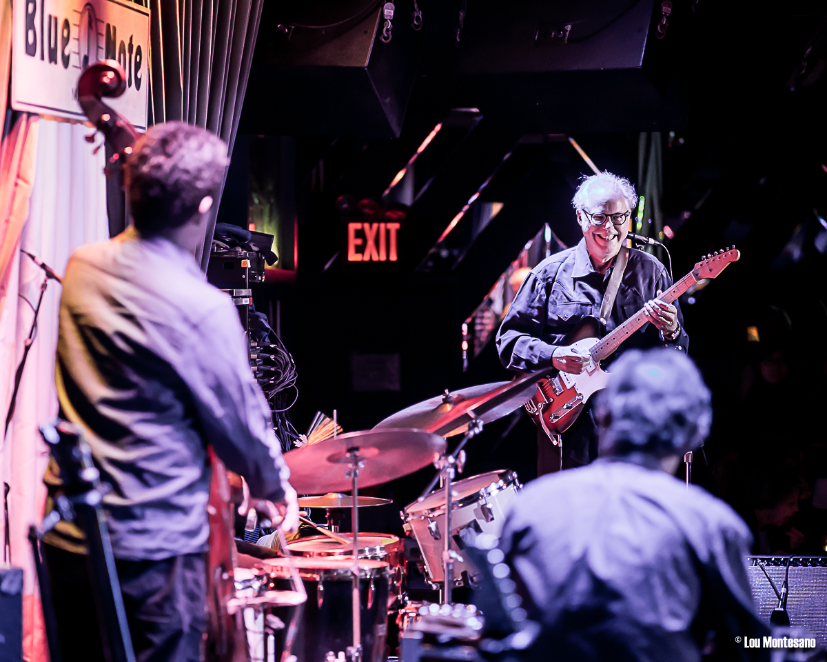 Bill Frisell with Tony Scherr and Greg Leisz, Blue Note, New York, October 2016