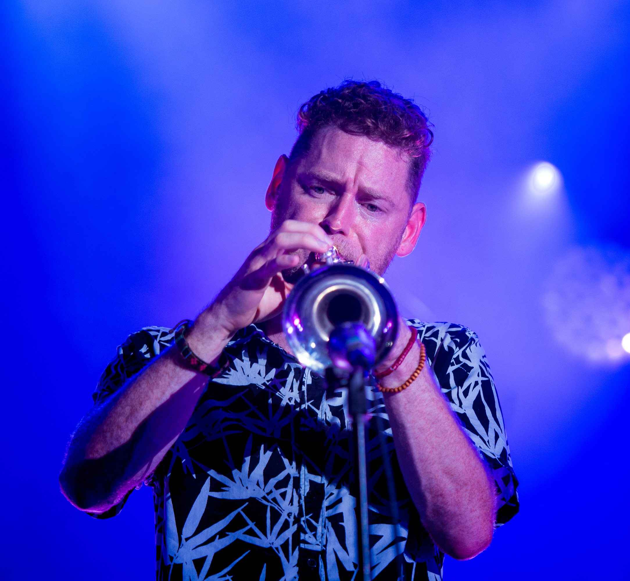 Jon Durbin With The Suffers At The Montreal International Jazz Festival 2018