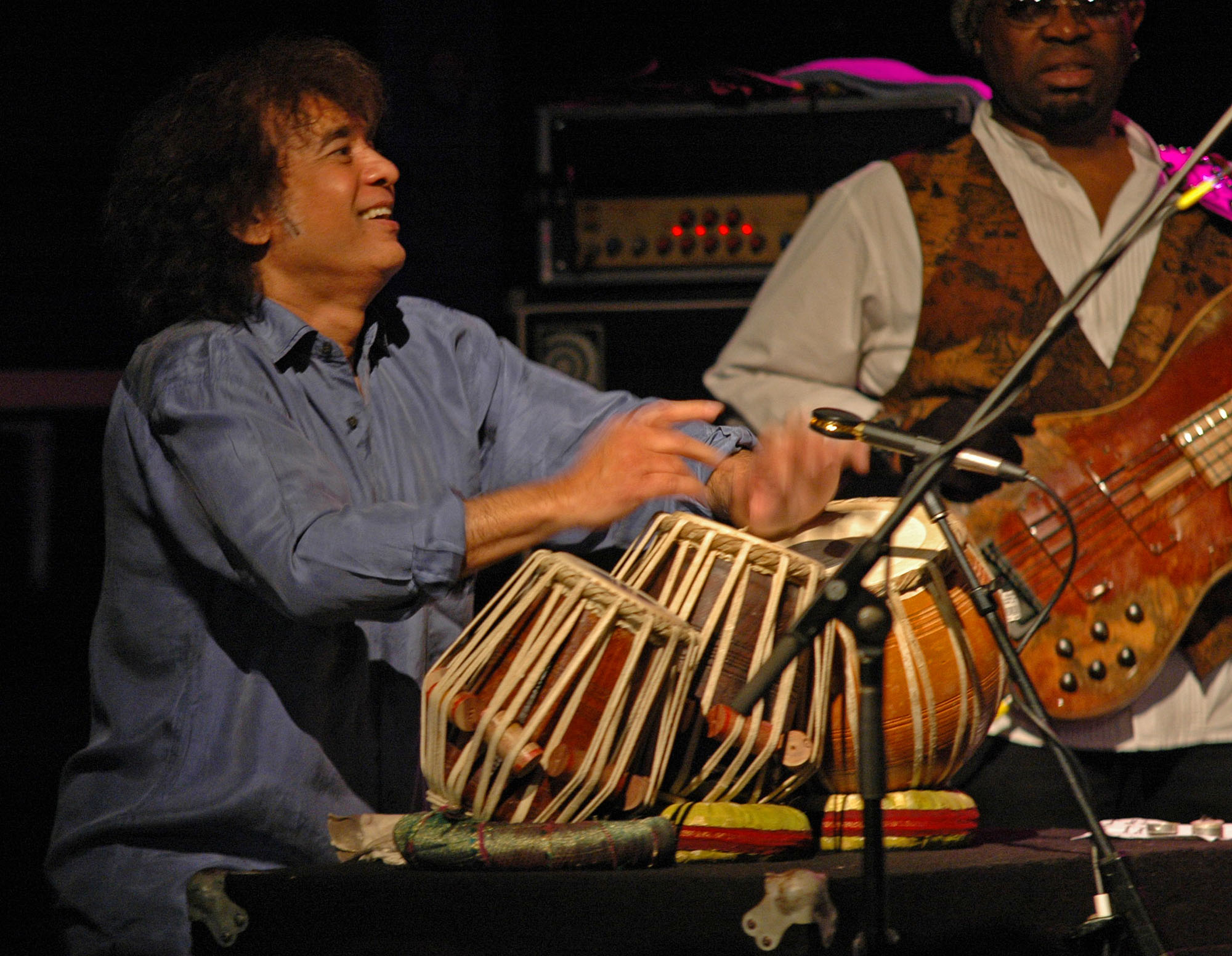 Special Guest Zakir Hussain, Performing with John McLaughlin and the 4th Dimension at the 2010 New Universe Music Festival