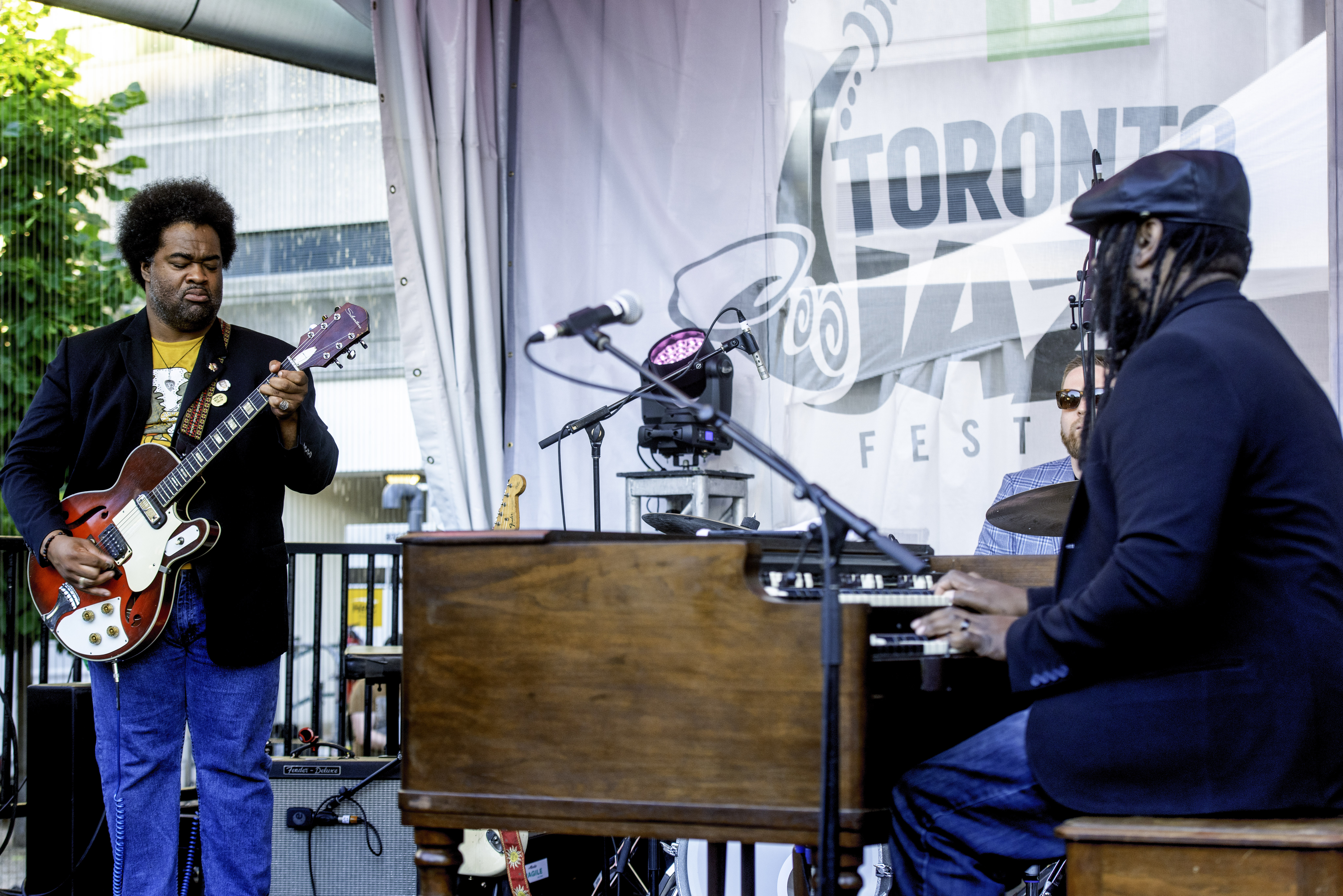 Jimmy James and Delvon Lamarr with Organ Trio at the Toronto Jazz Festival 2019