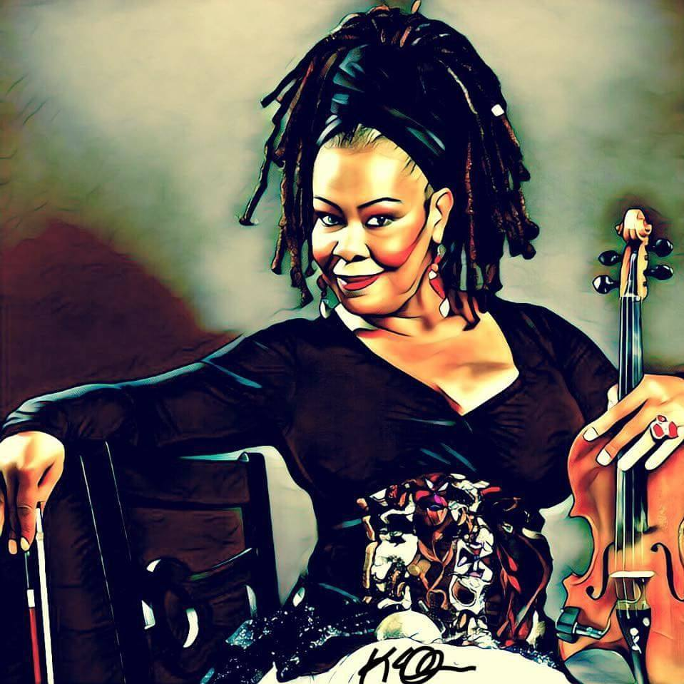 """KAREN BRIGGS """"Womens' Her♀story Month"""" • DwighTrible Presents"""