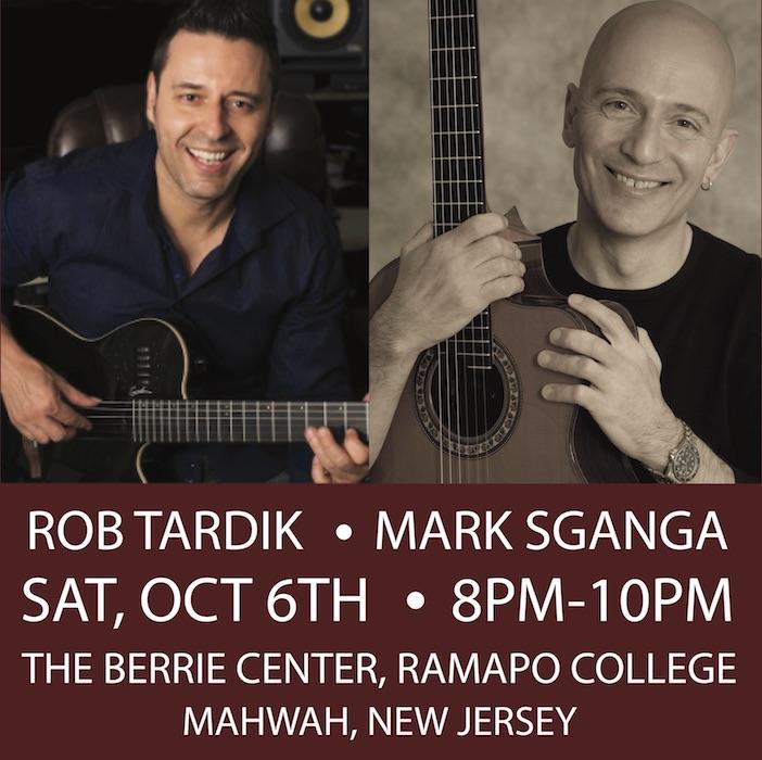 Jazz Guitar Masters Rob Tardik & Mark Sganga!