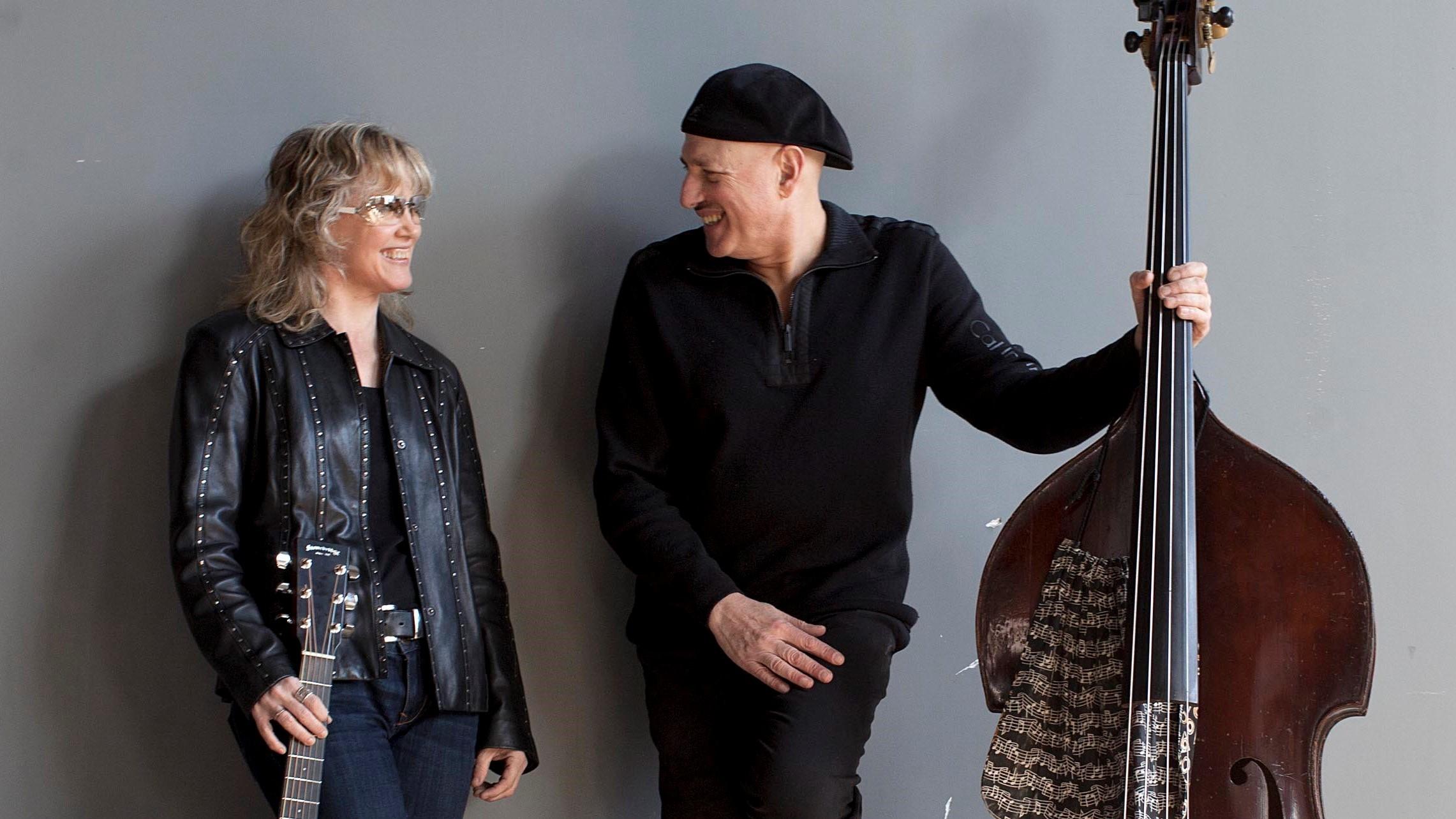 Sheryl Bailey and Harvie S Plucky Strum