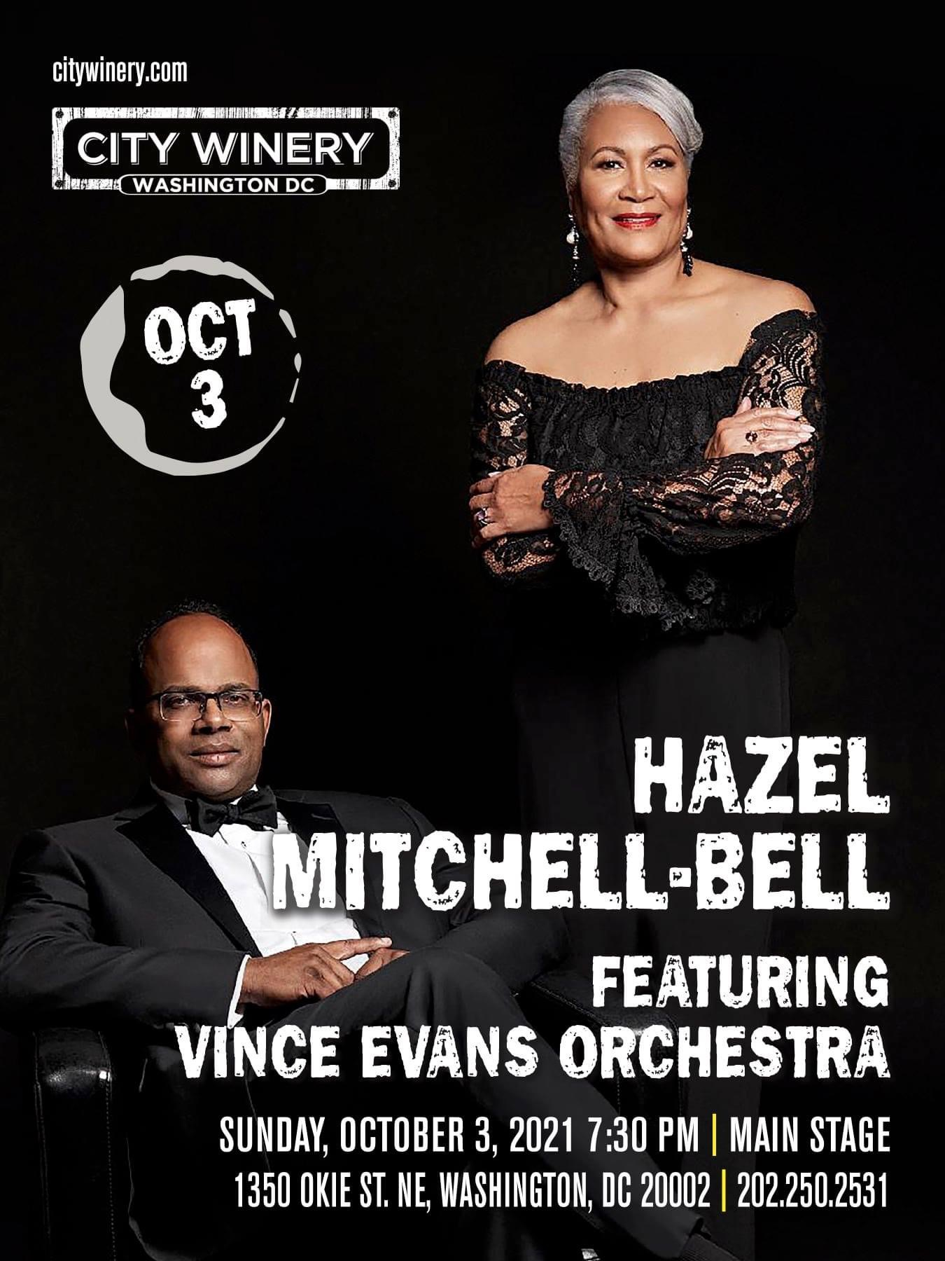 Hazel Mitchell-bell featuring Vince Evans Orchestra