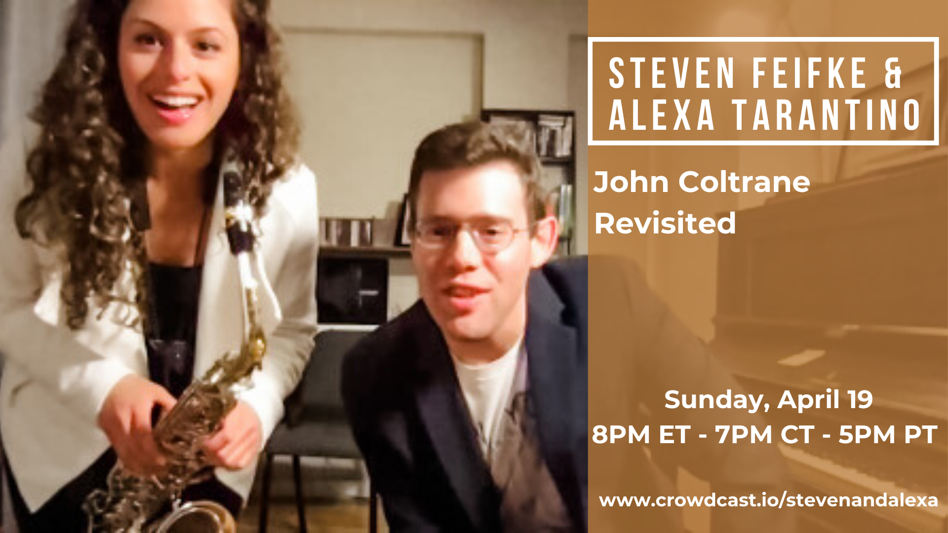 Steven Feifke & Alexa Tarantino: John Coltrane Revisited