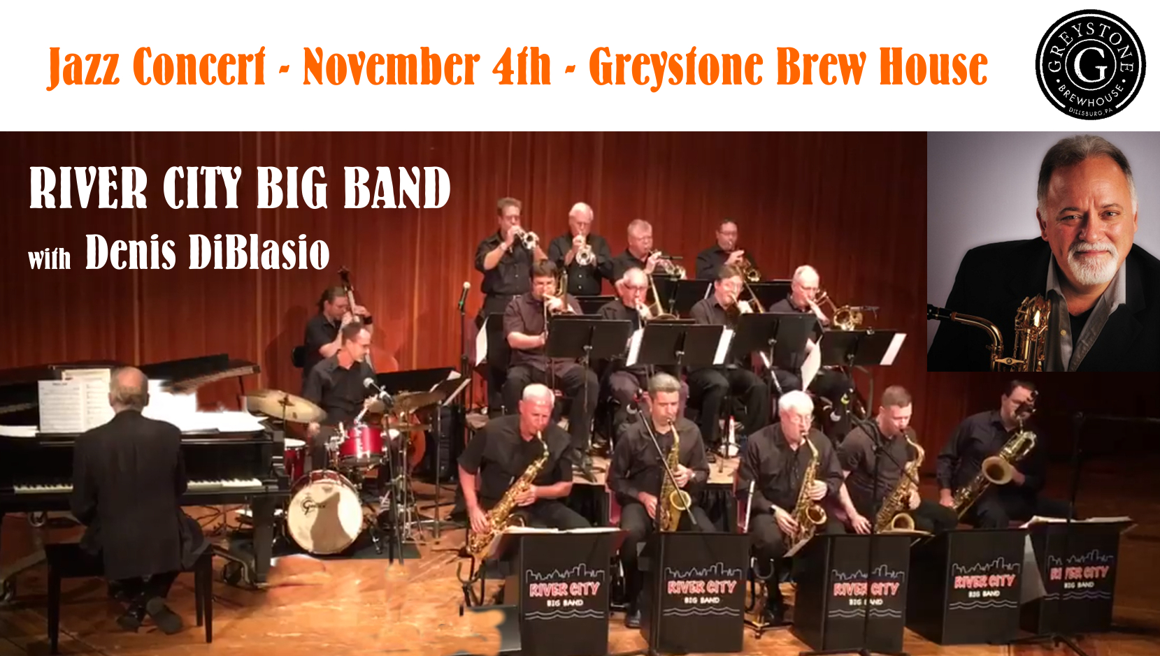 River City Big Band With Denis Diblasio