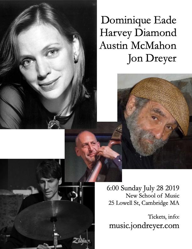 Dominique Eade With The Harvey Diamond Trio