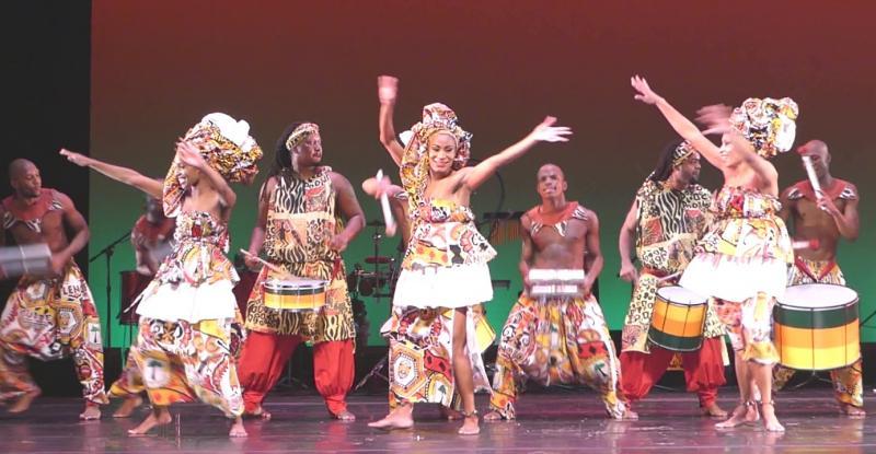 Balé Folclórico de Bahia at Zellerbach Hall