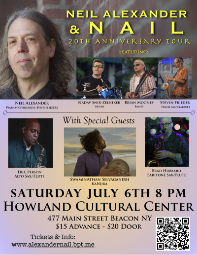 Neil Alexander & Nail at Howland Cultural Center
