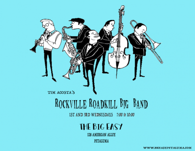 Tim Acosta's Roadkill Big Band at The Big Easy