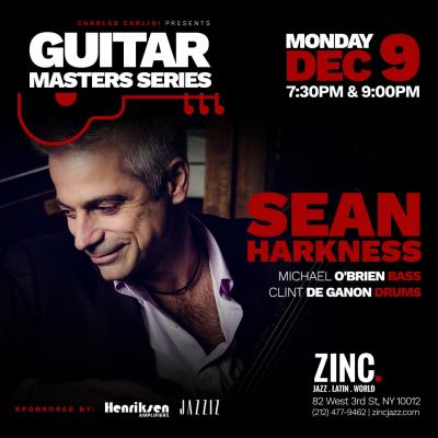 Sean Harkness at Zinc Bar