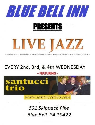 Santucci Trio at The Blue Bell Inn